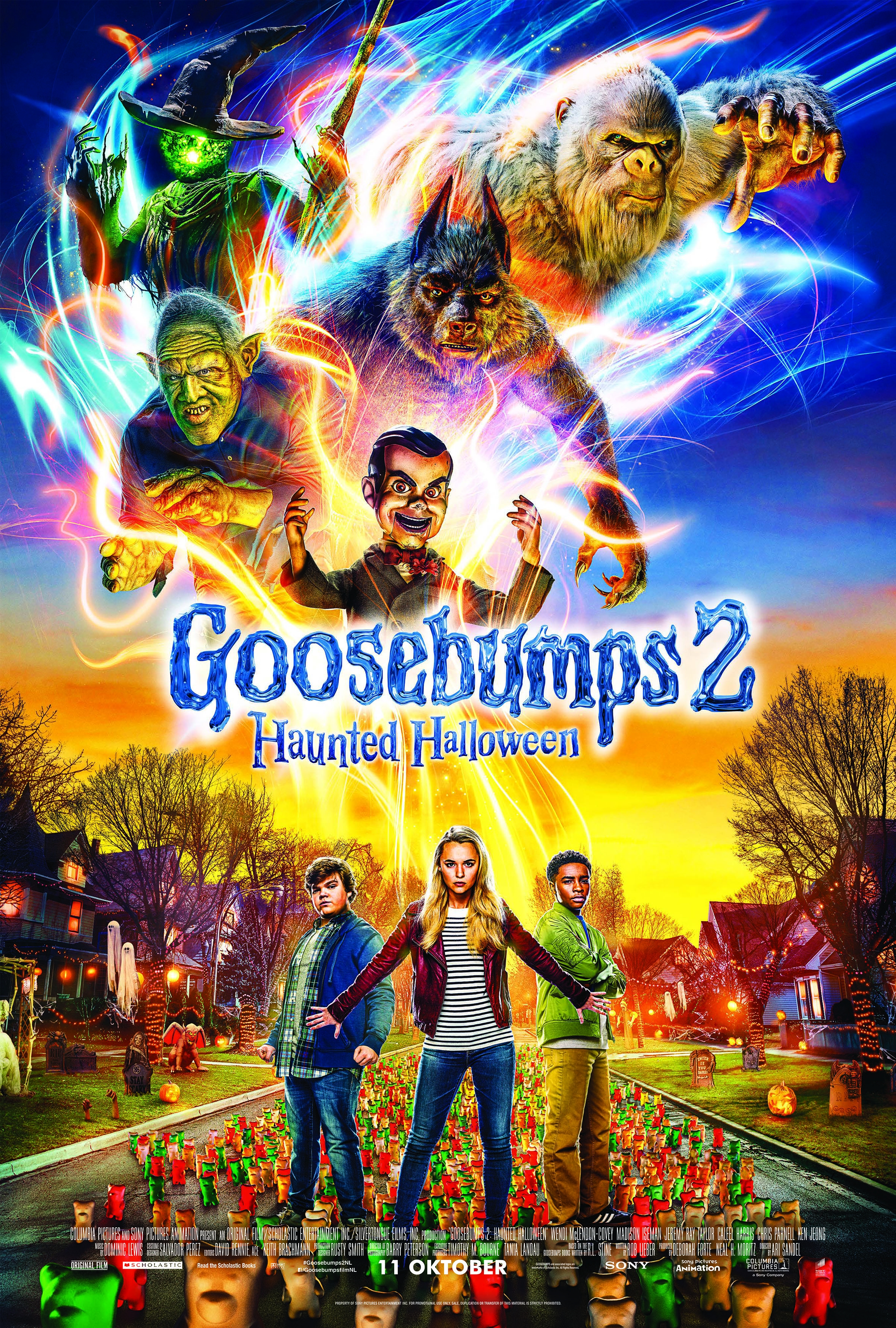 Goosebumps 2: Haunted Halloween poster, © 2018 Universal Pictures International