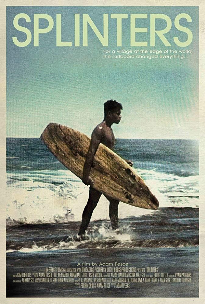 Splinters poster, copyright in handen van productiestudio en/of distributeur