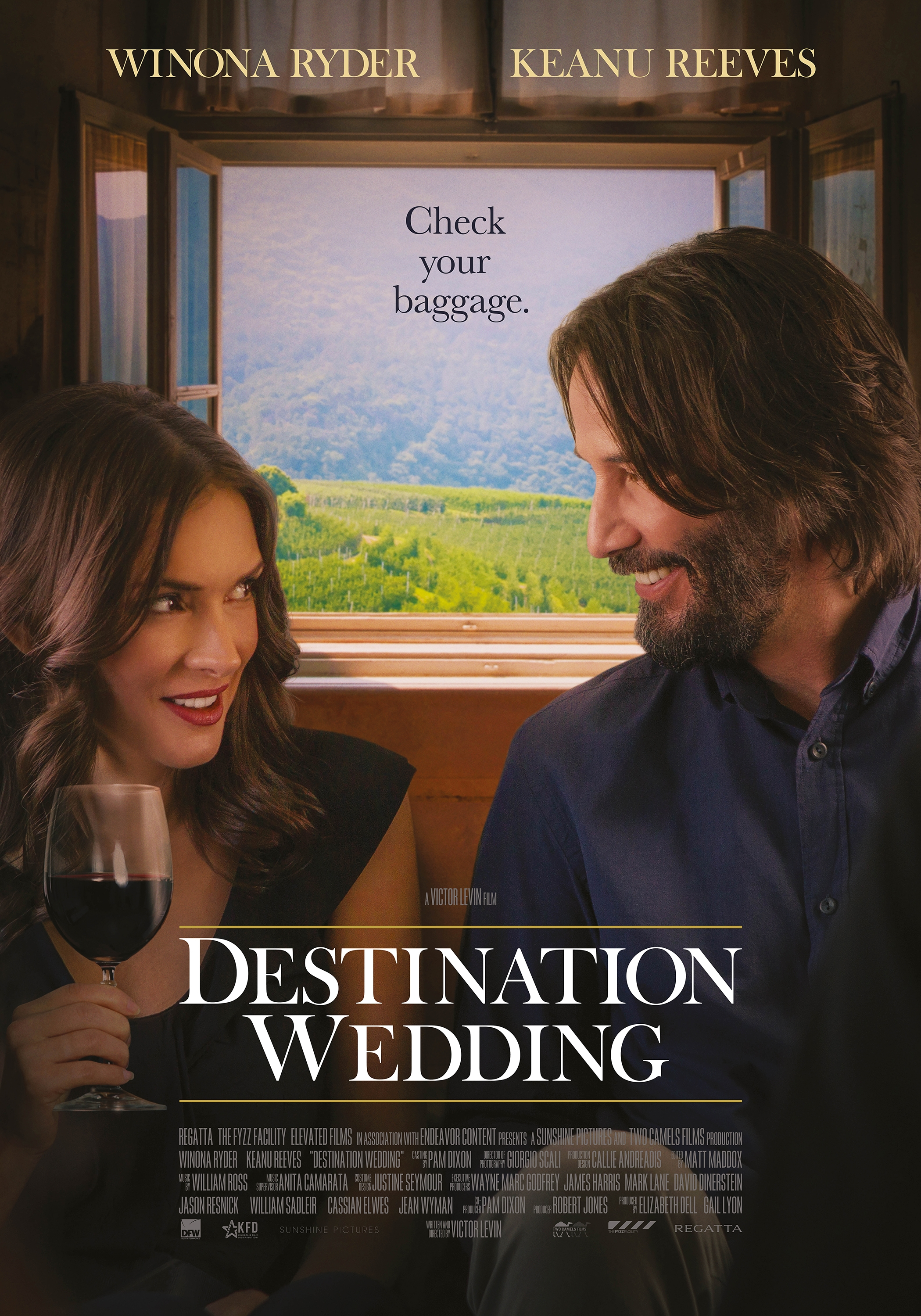 Destination Wedding poster, © 2018 Dutch FilmWorks