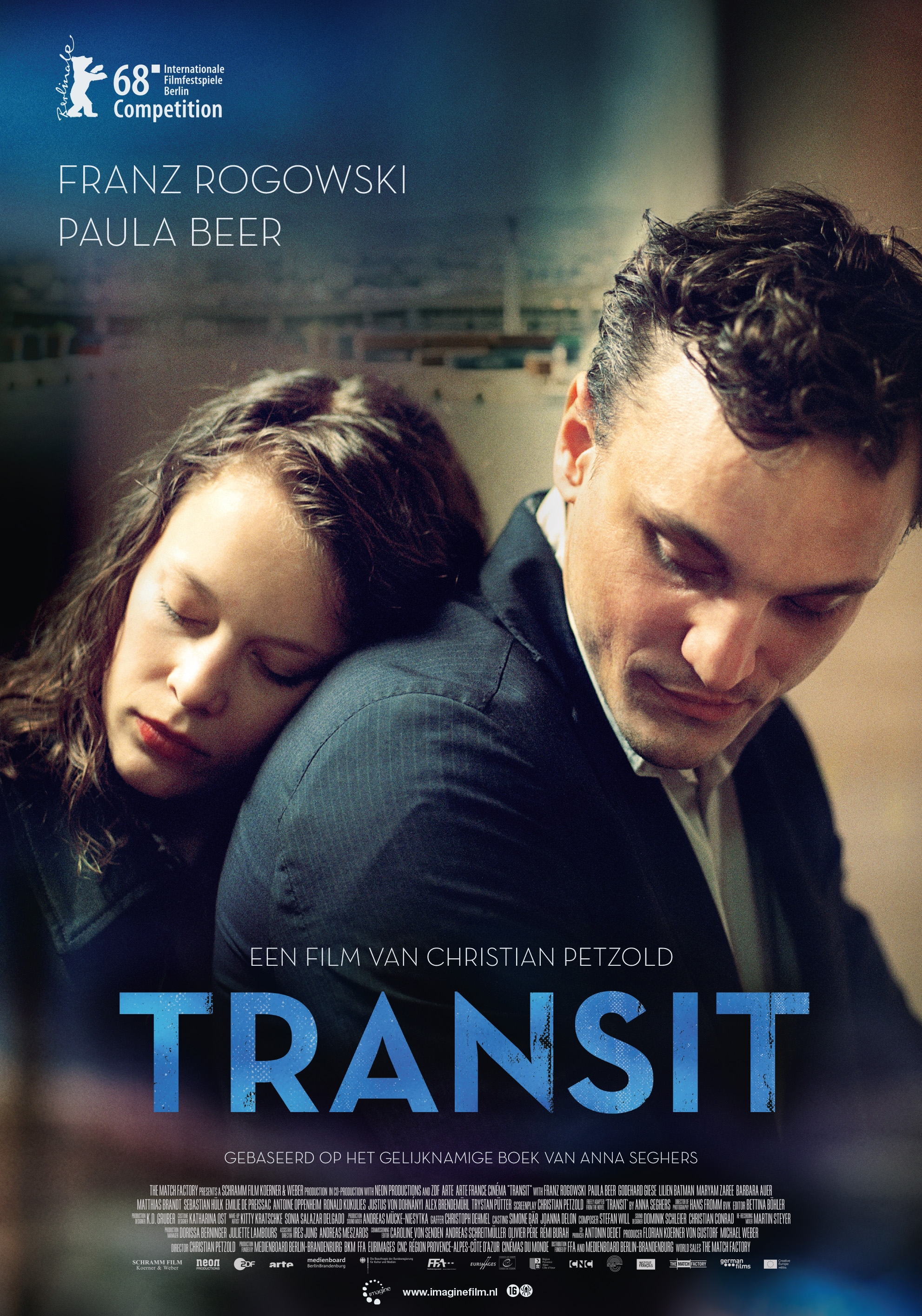 Transit poster, copyright in handen van productiestudio en/of distributeur