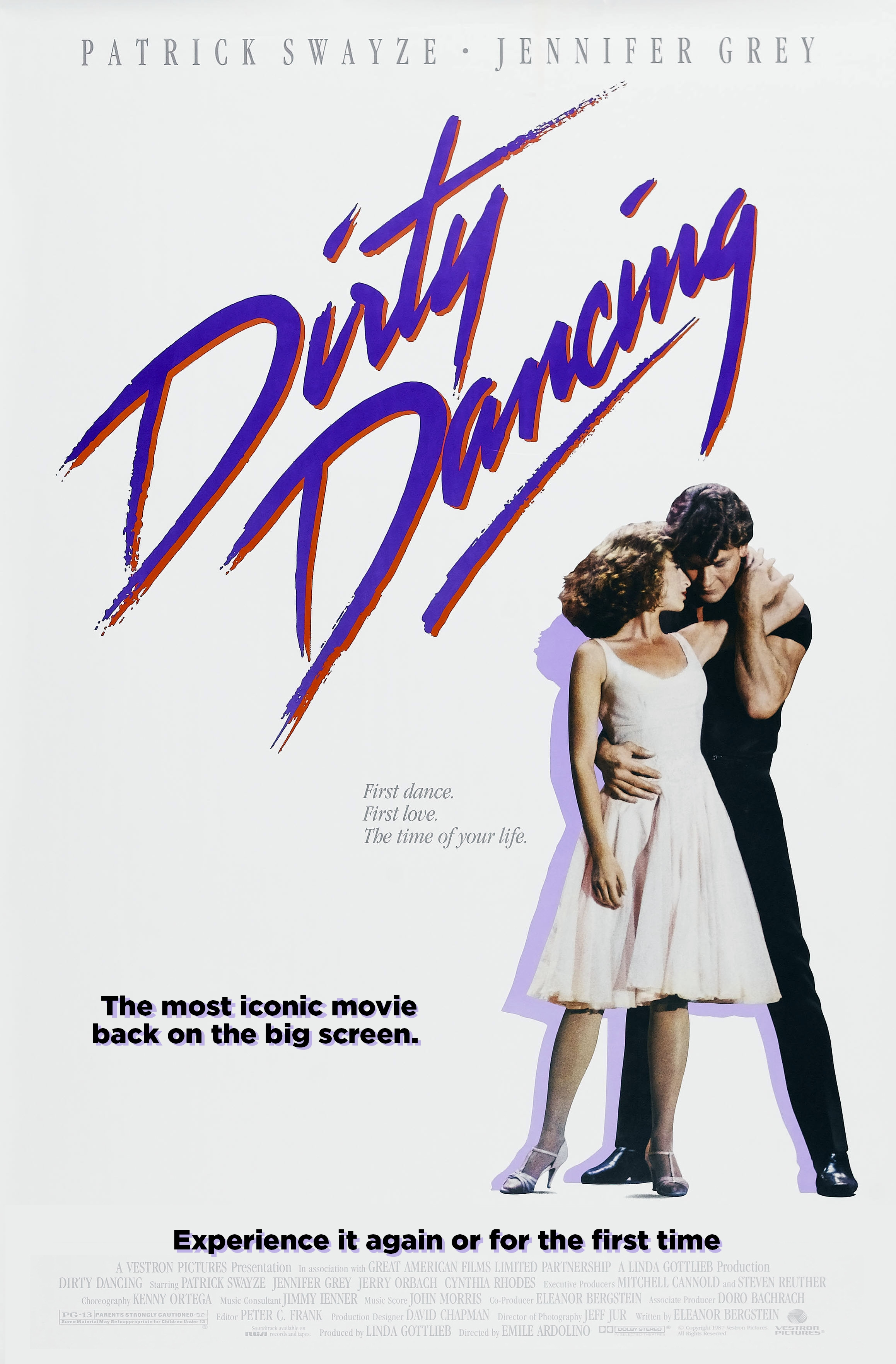 Dirty Dancing poster, © 1987 Dutch FilmWorks