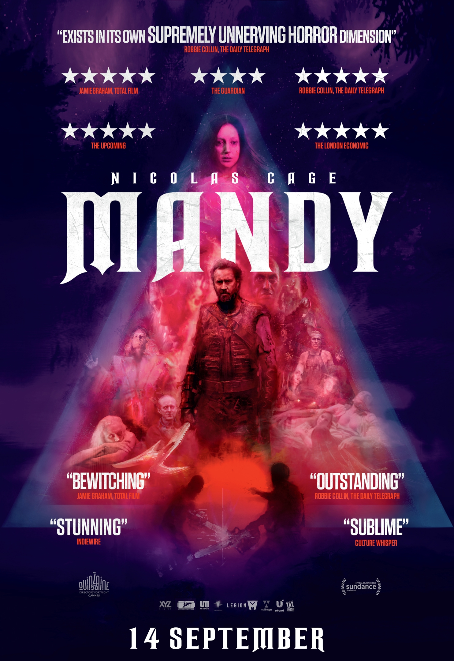 Mandy poster, copyright in handen van productiestudio en/of distributeur