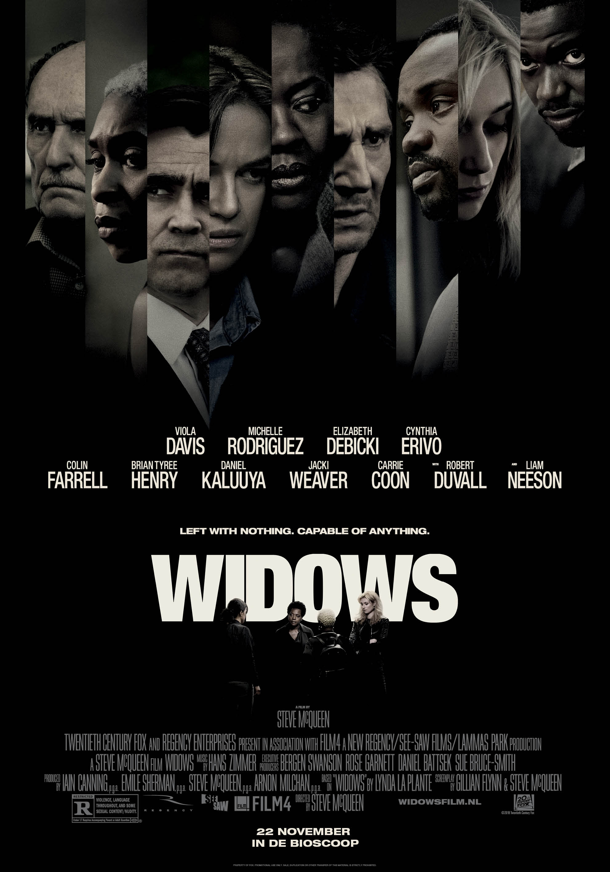 Widows poster, © 2018 20th Century Fox