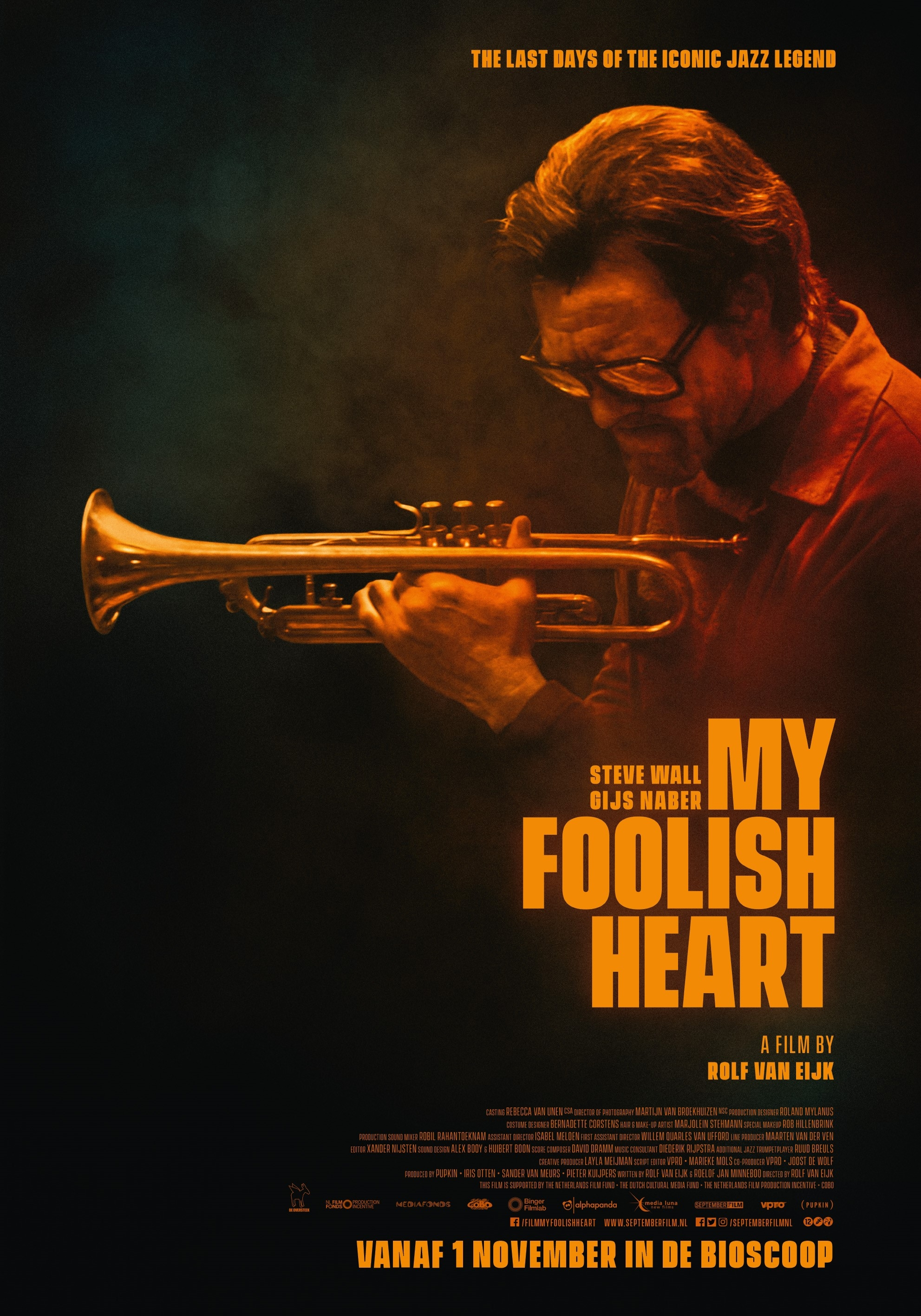 My Foolish Heart poster, © 2018 September