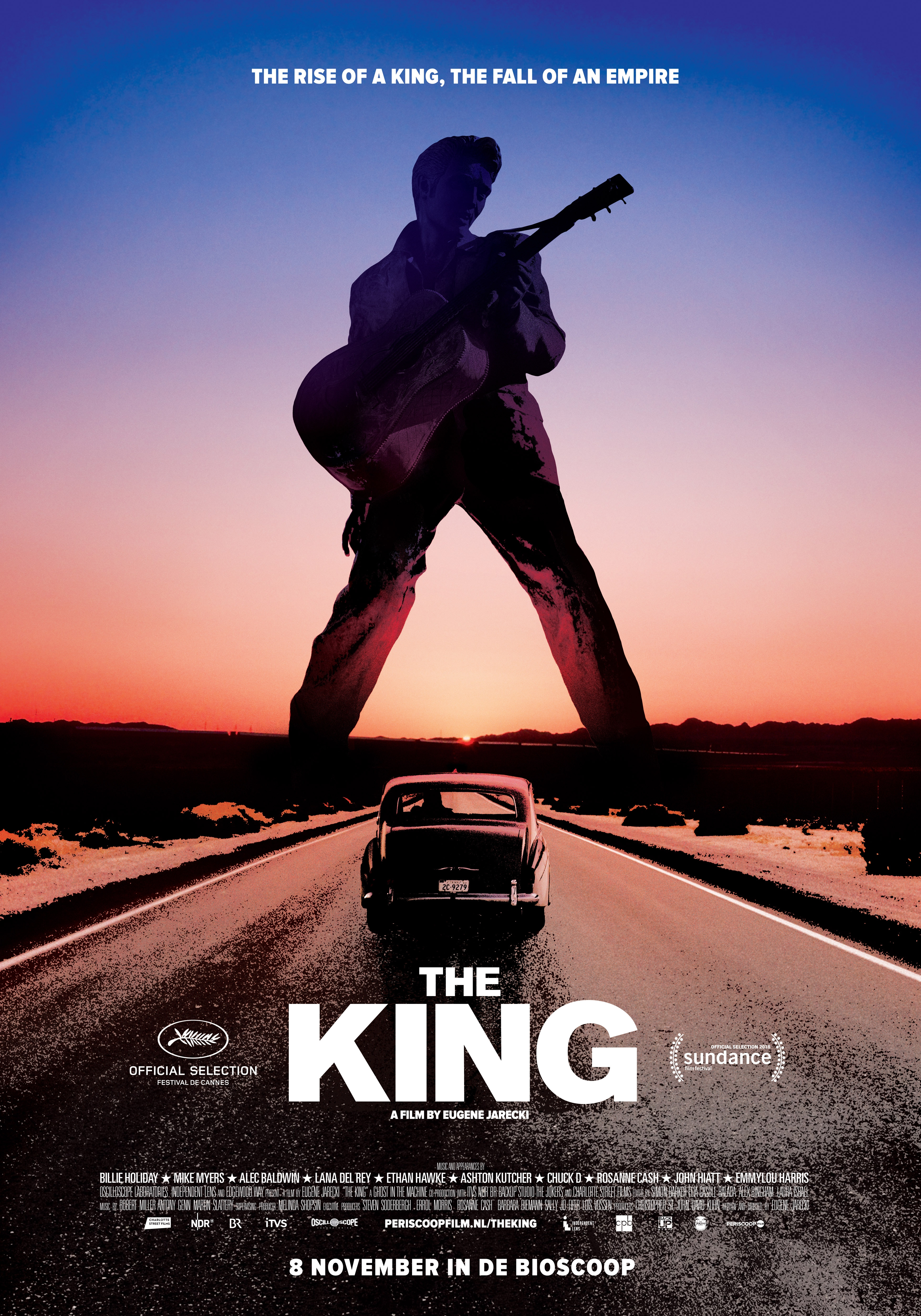 The King poster, © 2017 Periscoop