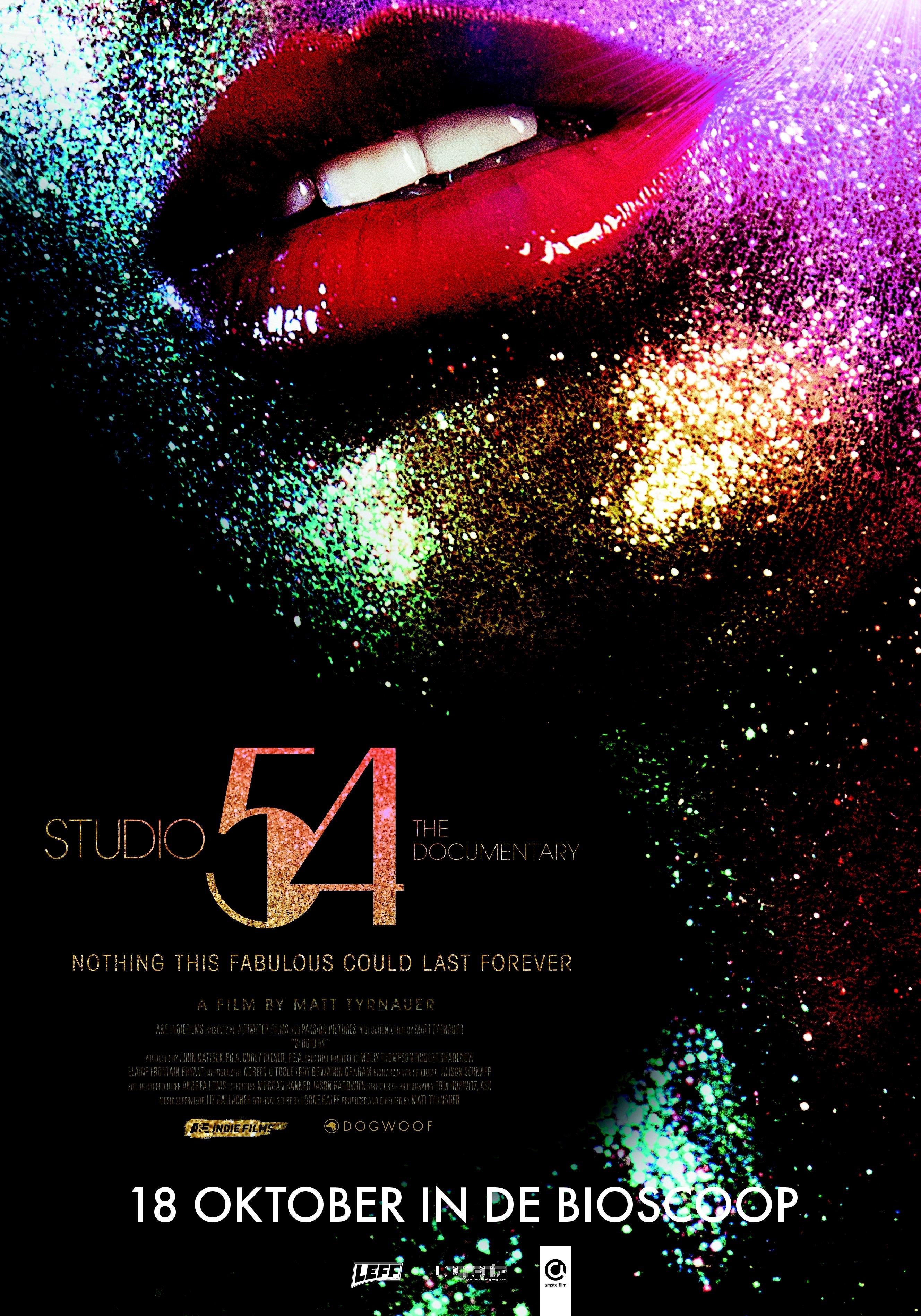 Studio 54 poster, © 2018 Amstelfilm