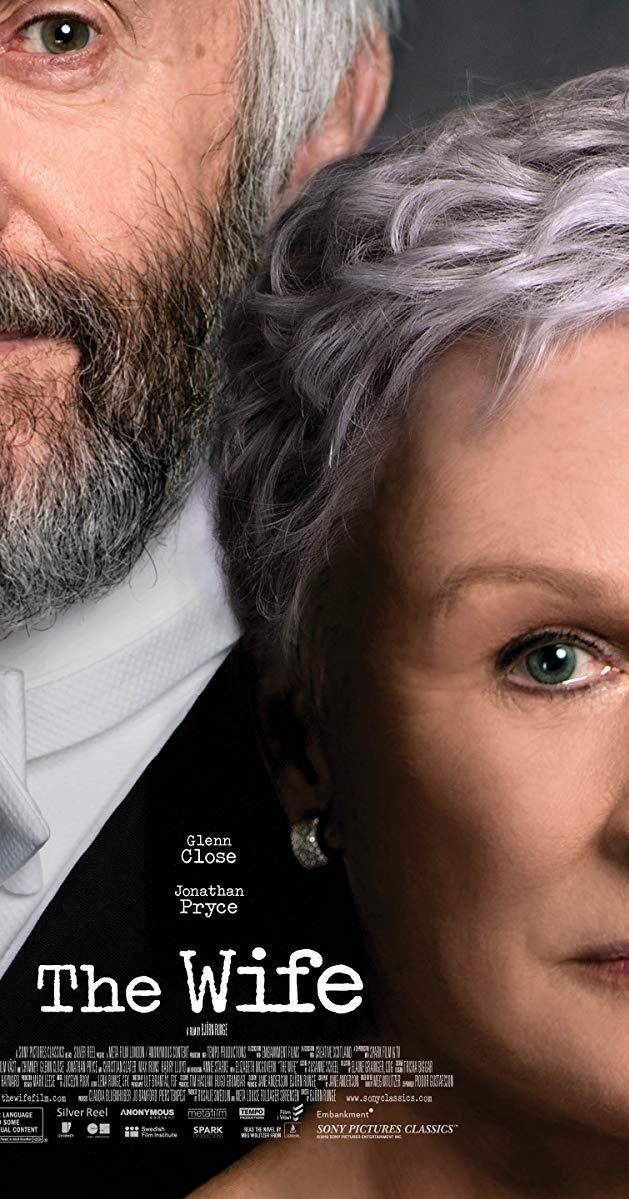 The Wife poster, copyright in handen van productiestudio en/of distributeur