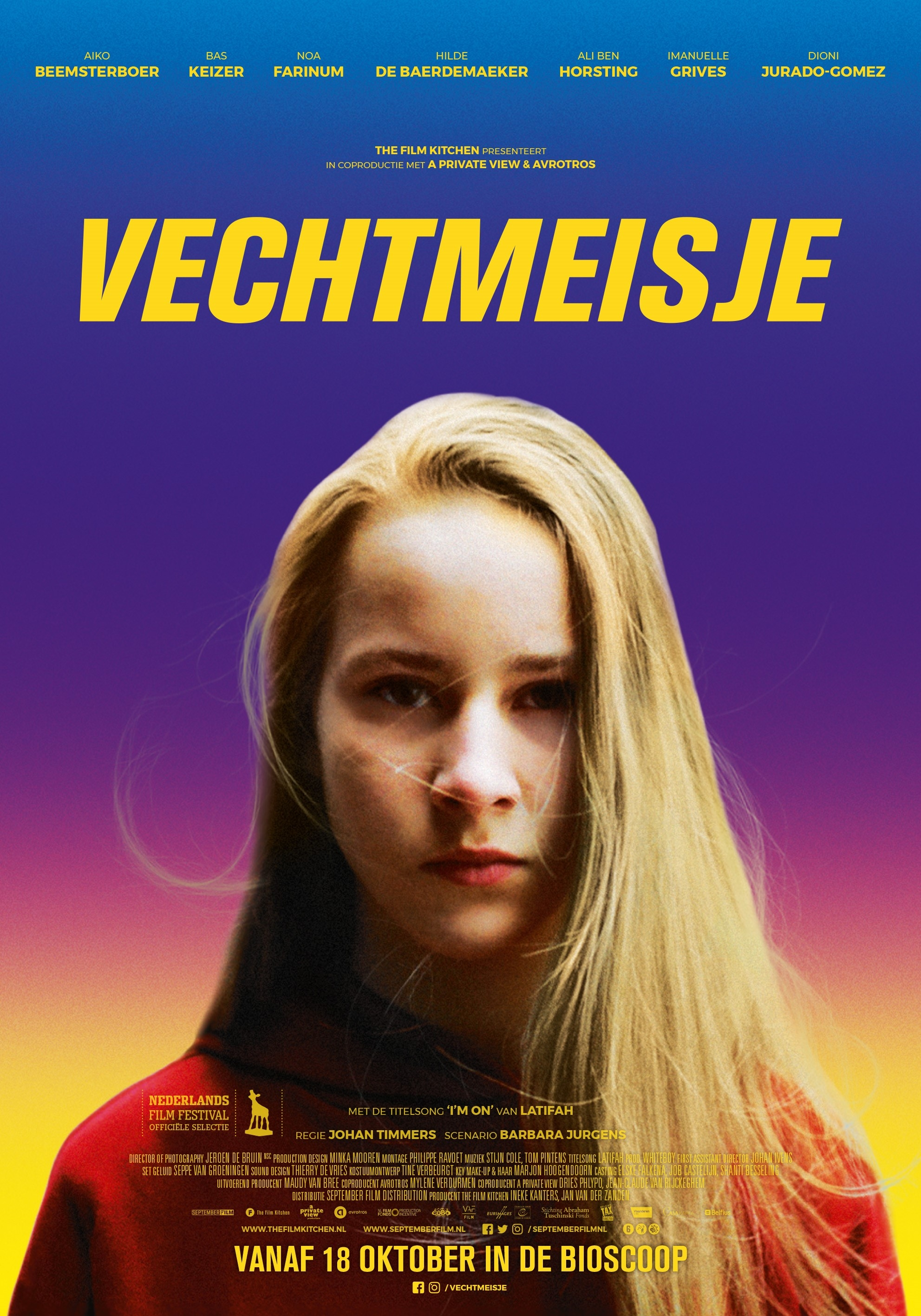Vechtmeisje poster, © 2018 September