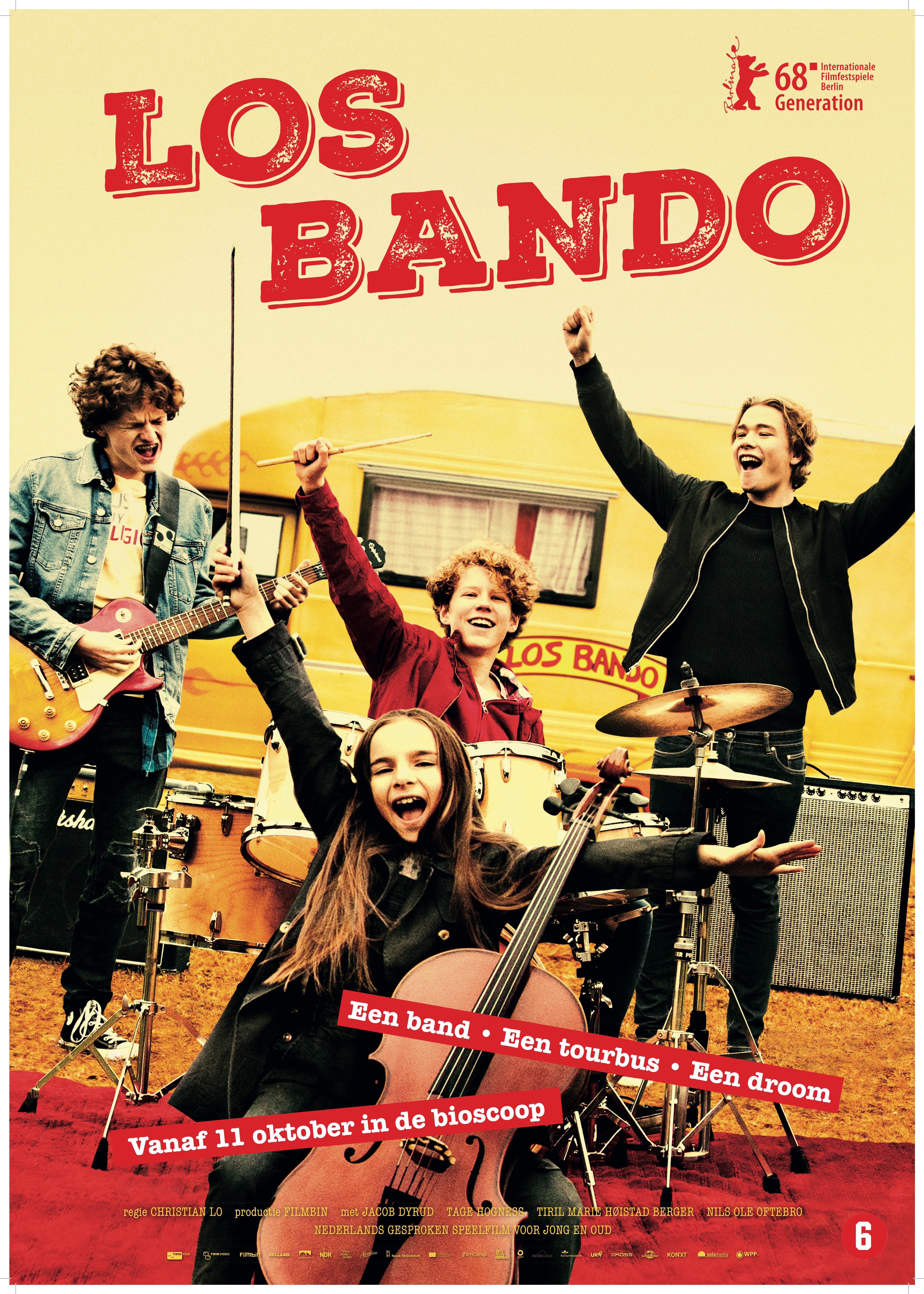 Los Bando (NL) poster, © 2018 Twin Film