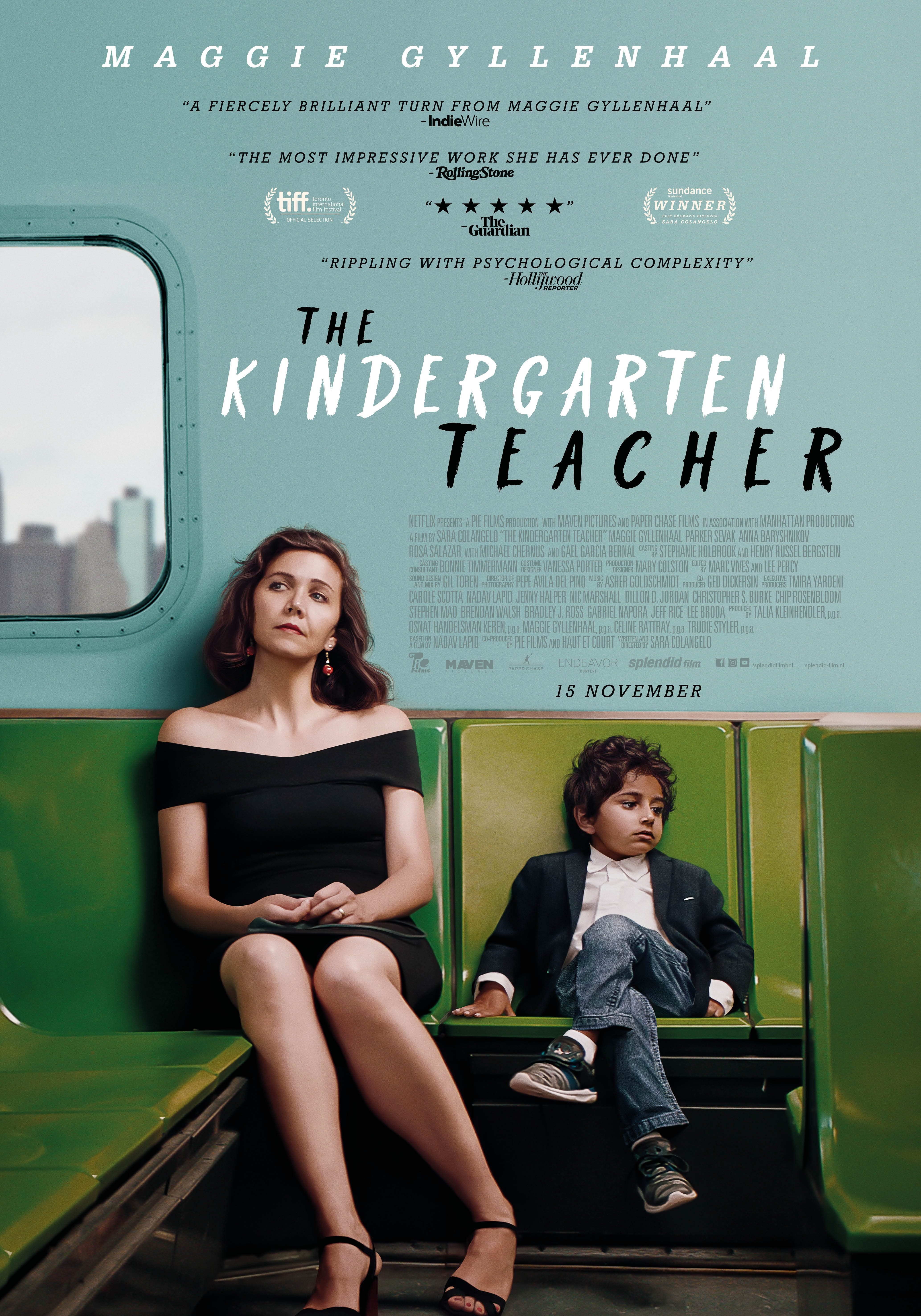 The Kindergarten Teacher poster, © 2018 Splendid Film