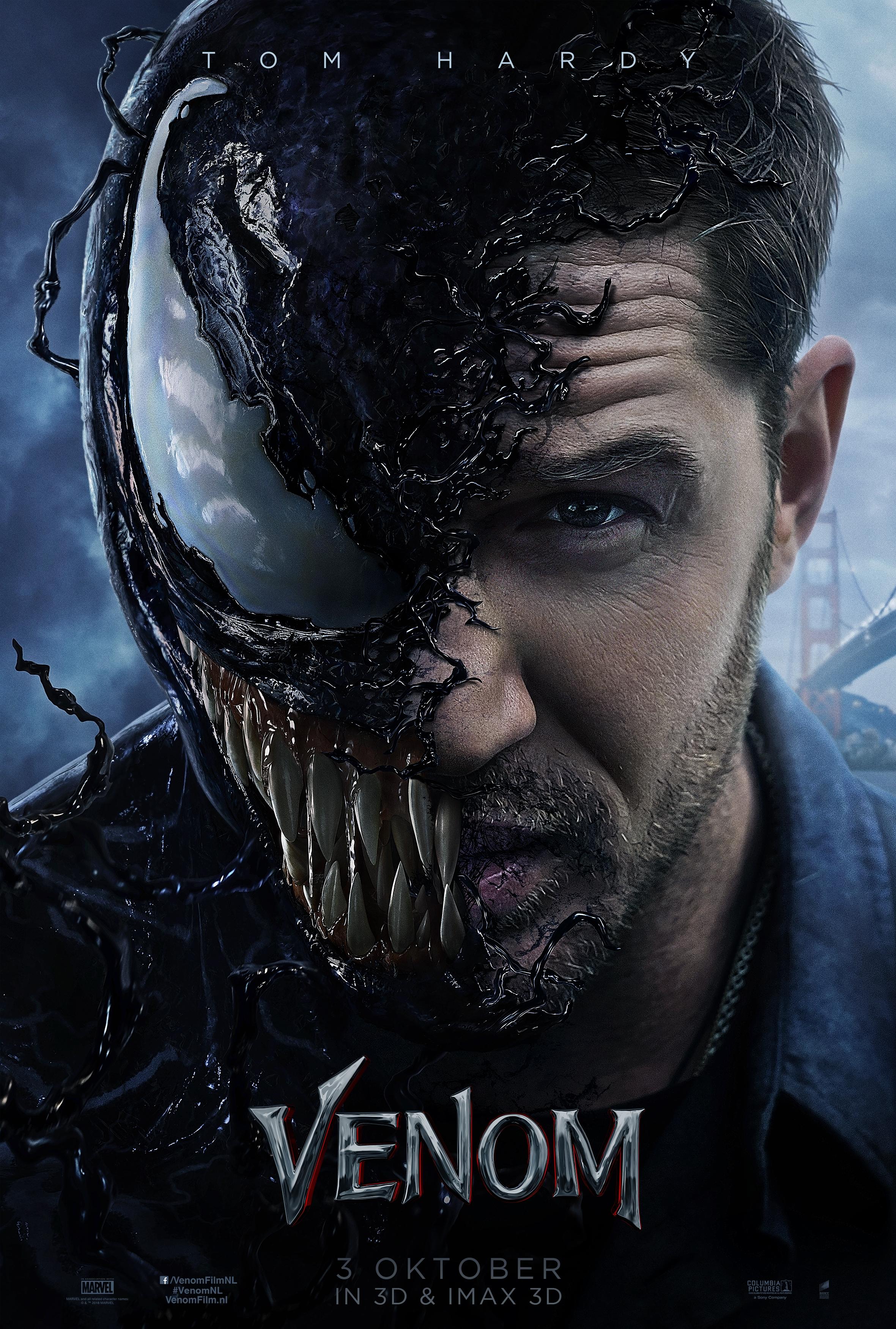 Venom poster, © 2018 Universal Pictures International