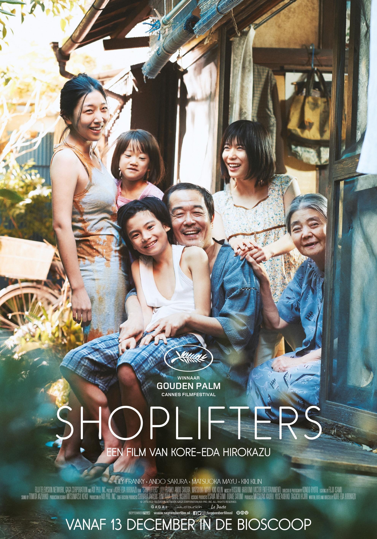 Shoplifters poster, © 2018 September