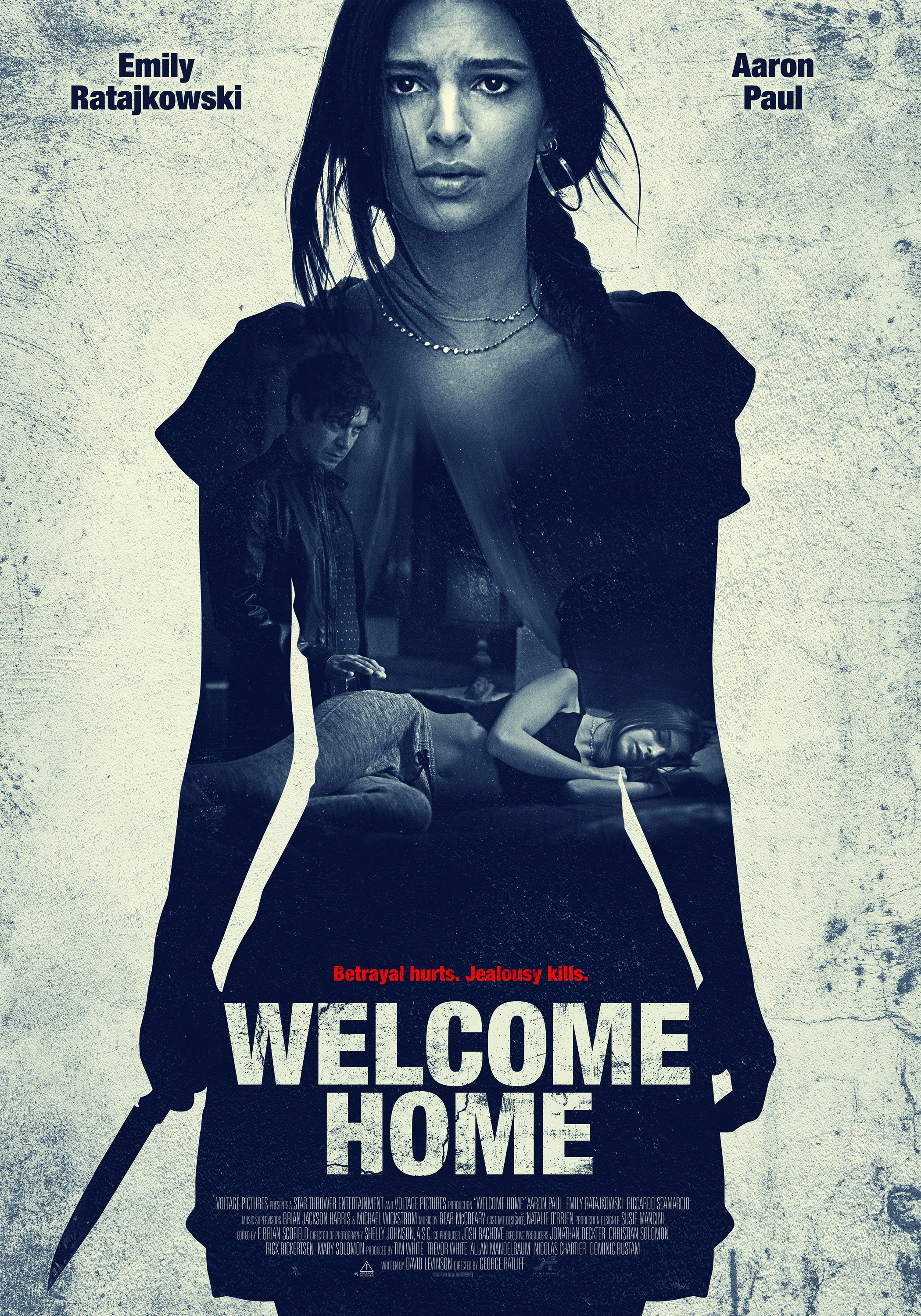 Welcome Home poster, copyright in handen van productiestudio en/of distributeur