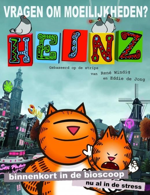 HEINZ poster, copyright in handen van productiestudio en/of distributeur