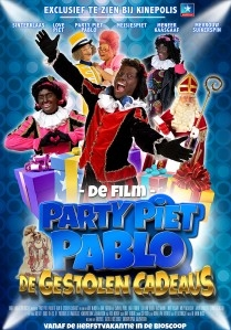 Party Piet Pablo en de Gestolen Cadeaus poster, copyright in handen van productiestudio en/of distributeur