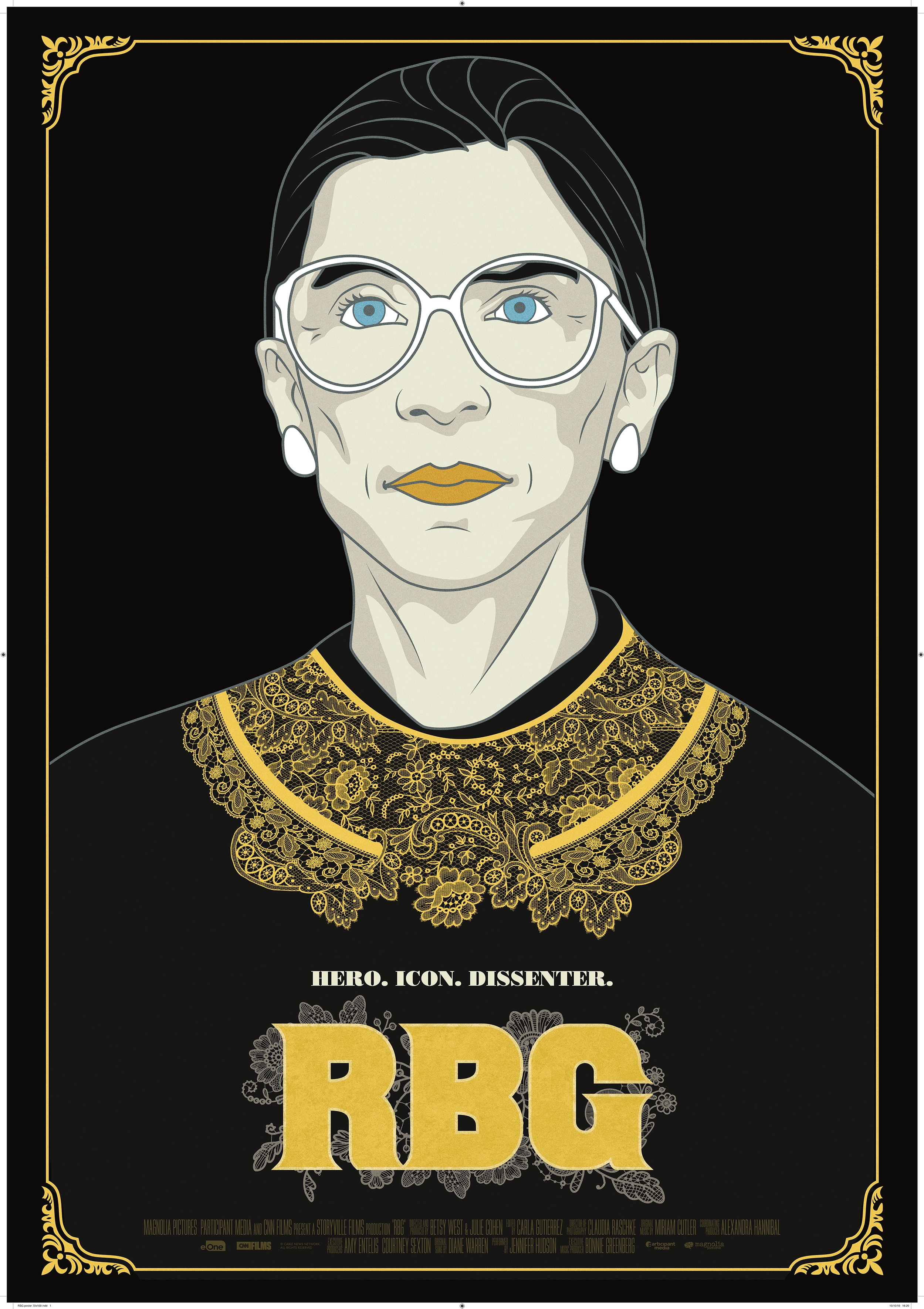 RBG poster, © 2018 Entertainment One Benelux