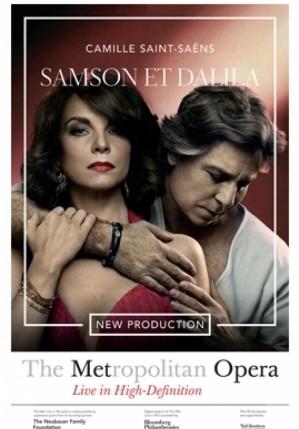 Samson et Dalila (opera) poster, copyright in handen van productiestudio en/of distributeur