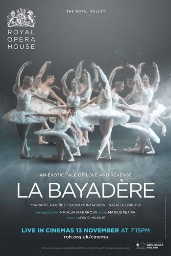 The Royal Ballet: La Bayadère poster, copyright in handen van productiestudio en/of distributeur