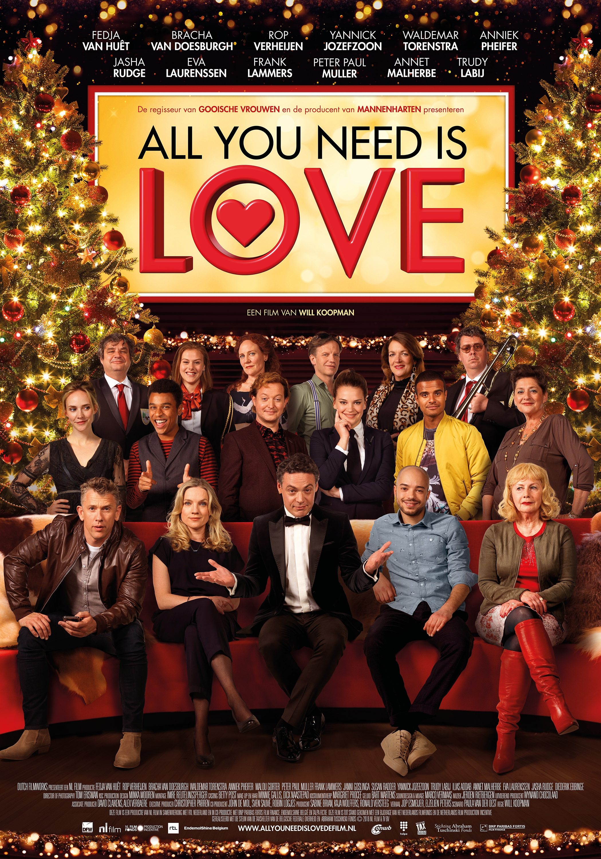 All You Need Is Love poster, © 2018 Dutch FilmWorks