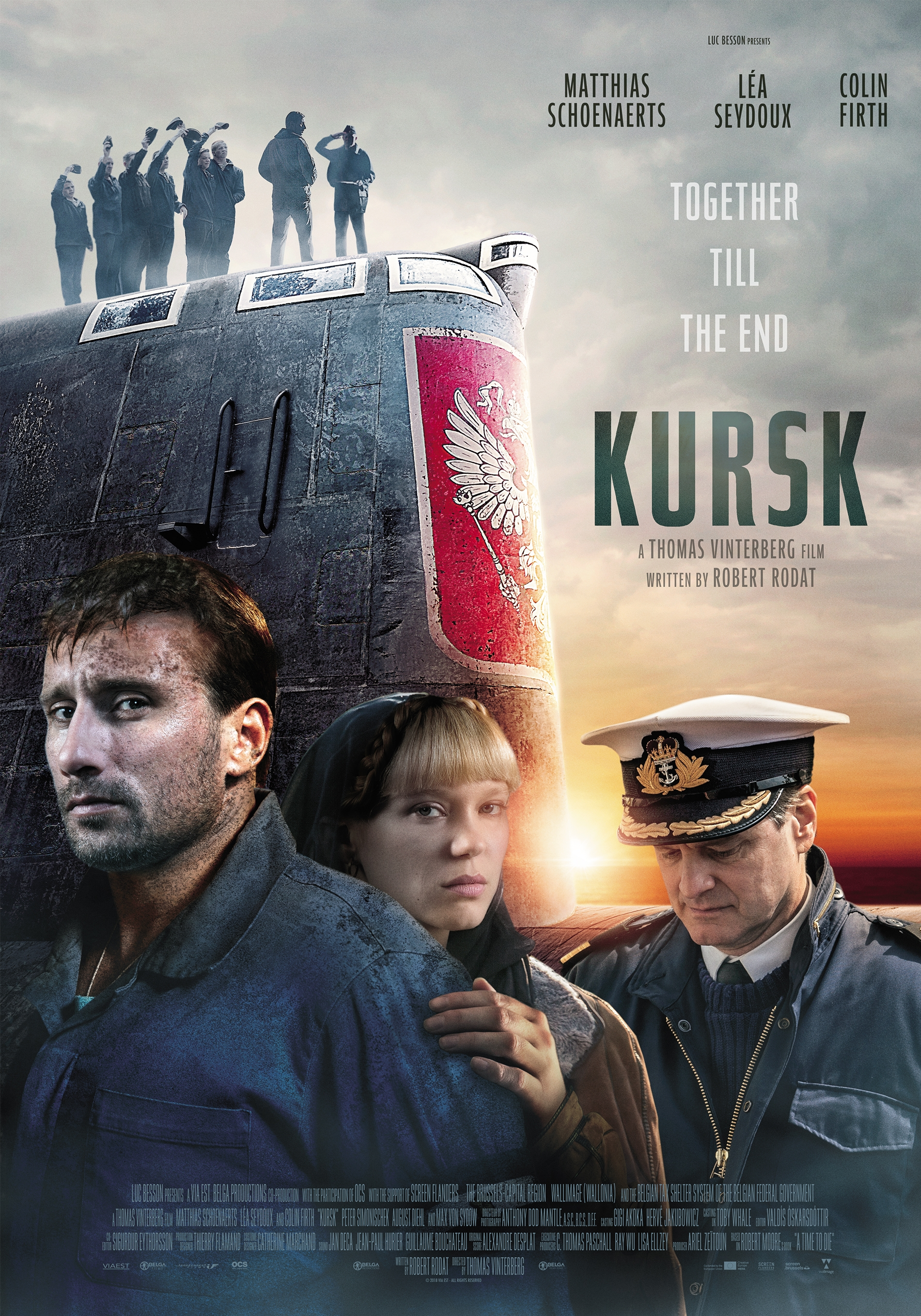 Kursk poster, © 2018 Independent Films