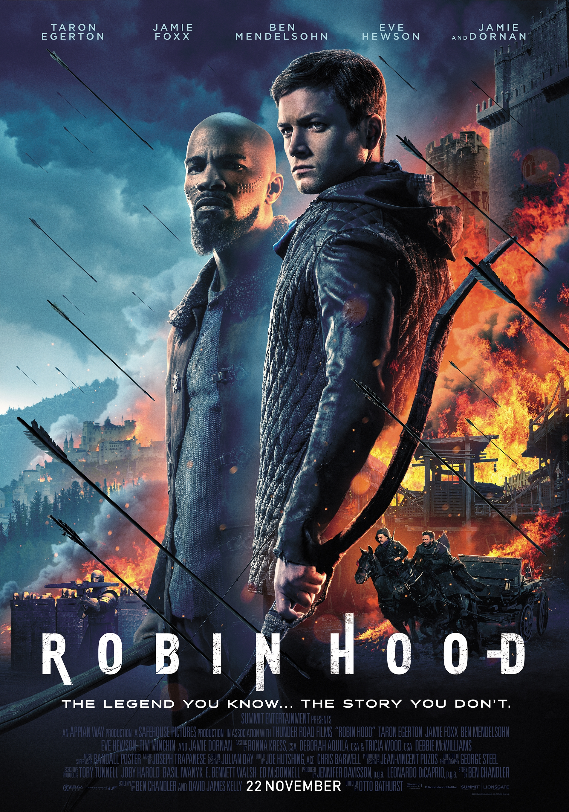 Robin Hood poster, copyright in handen van productiestudio en/of distributeur