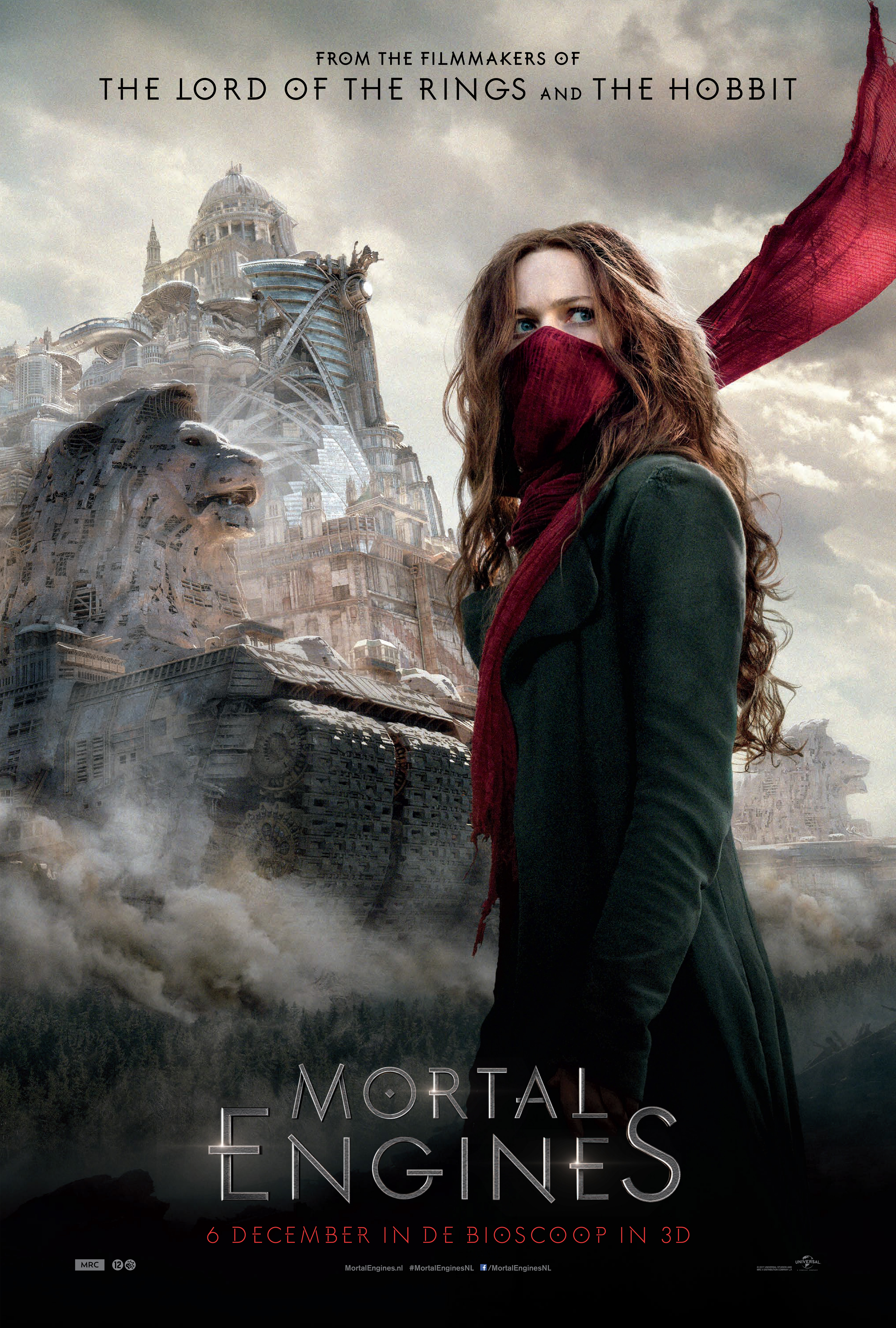 Mortal Engines poster, © 2018 Universal Pictures International