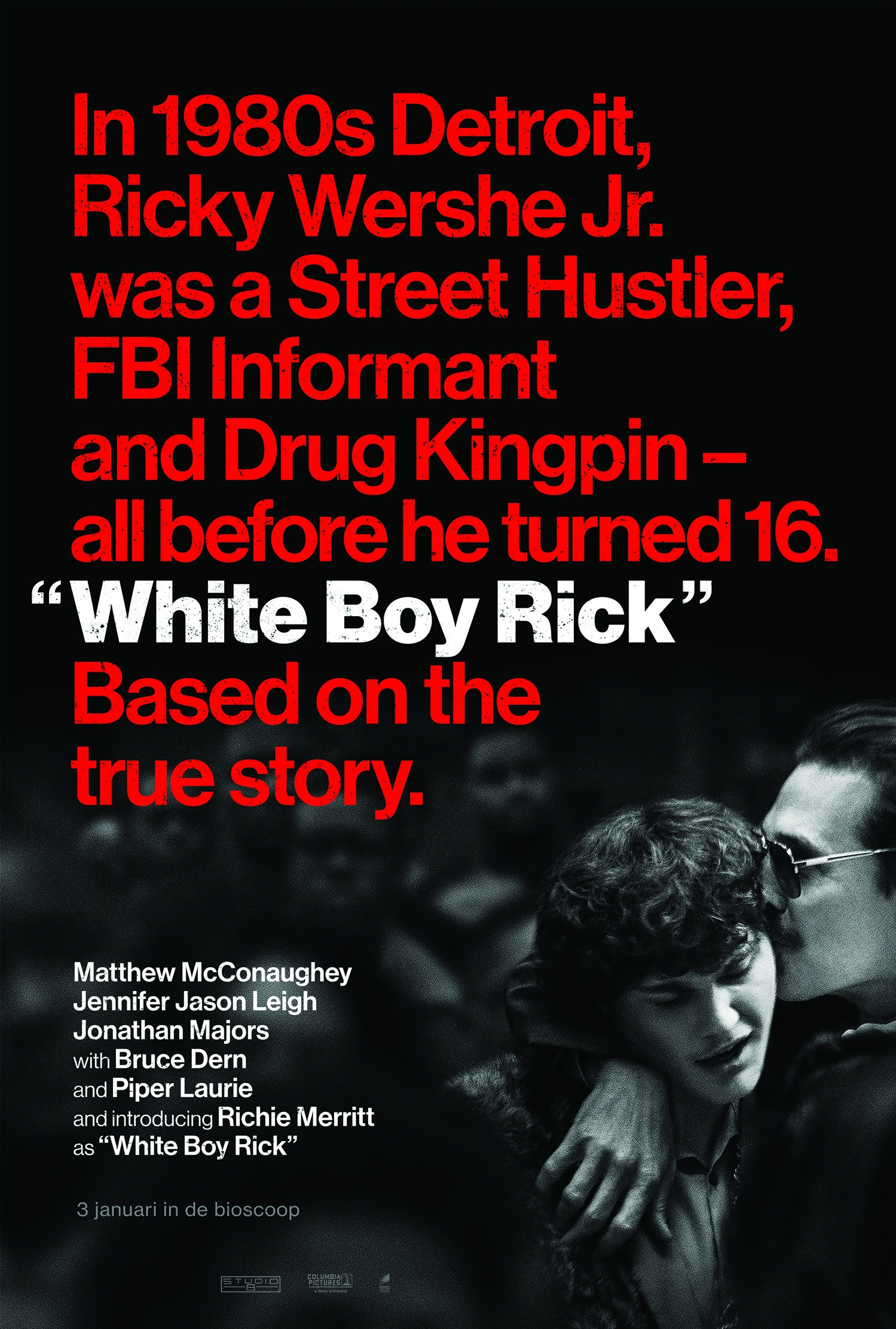 White Boy Rick poster, © 2018 Universal Pictures International