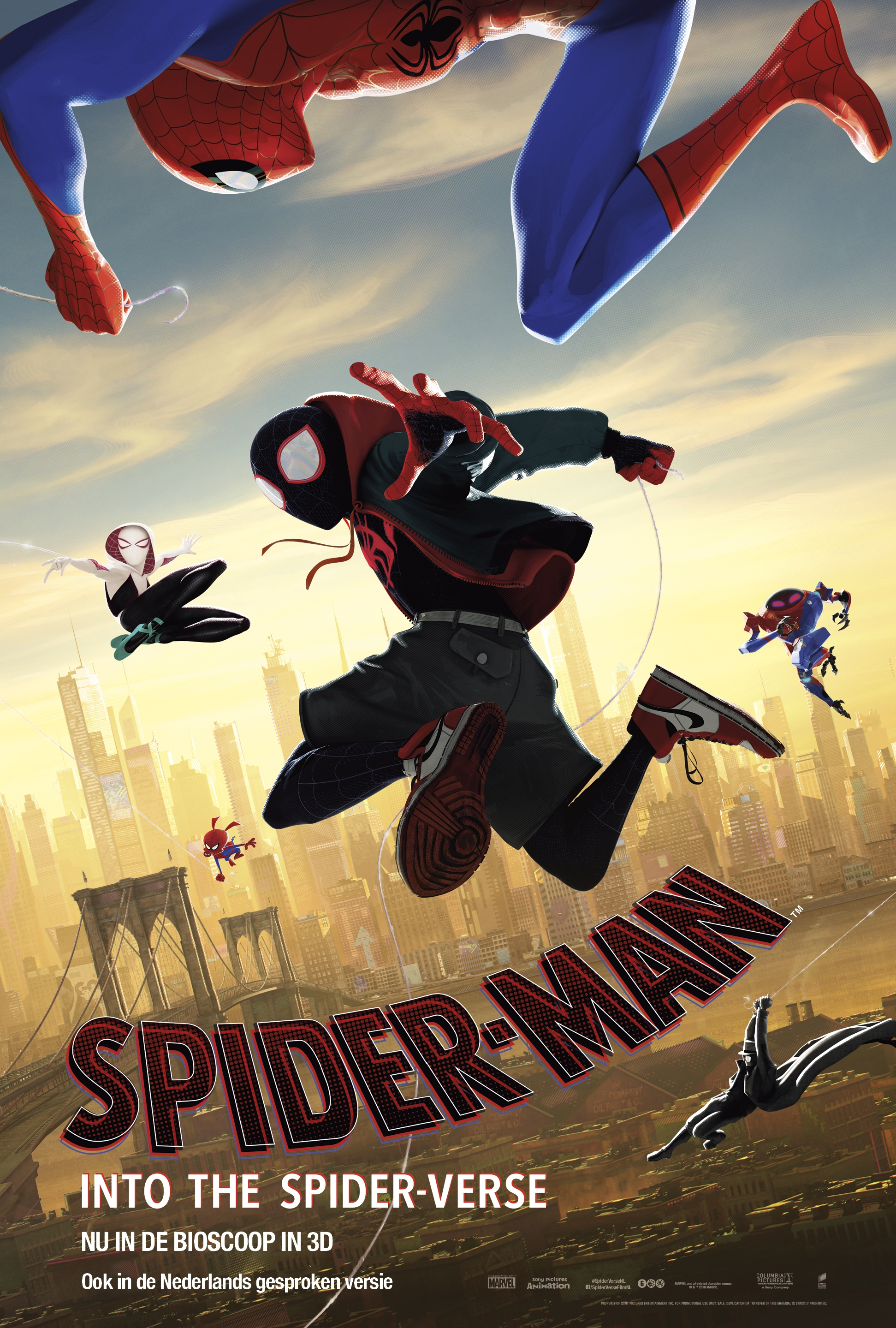 Spider-Man: Into the Spider-Verse poster, © 2018 Universal Pictures International