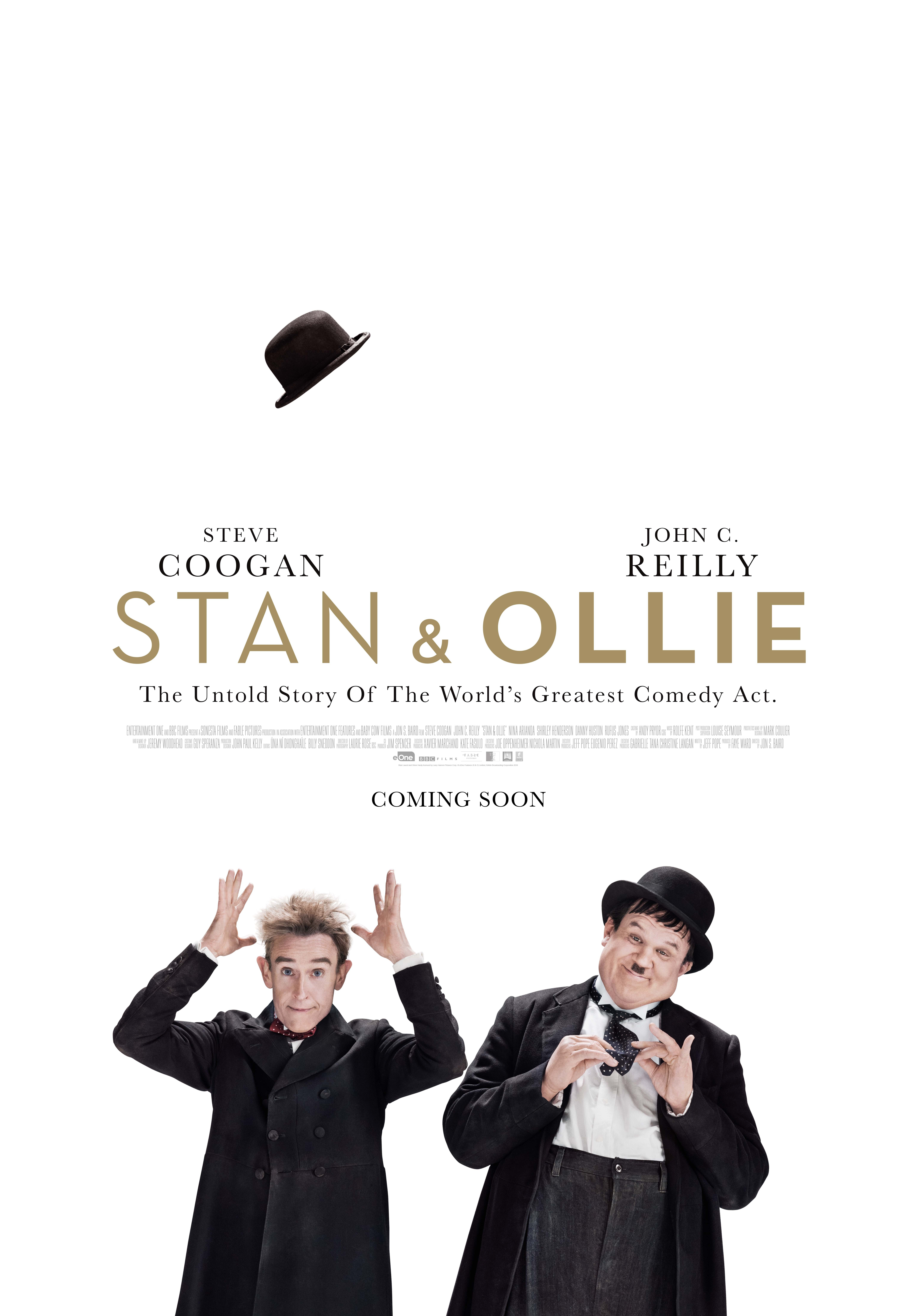 Stan & Ollie poster, © 2018 Entertainment One Benelux
