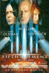 Poster 'The Fifth Element' © 1997 Buena Vista International