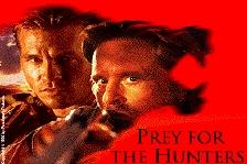 De jagers worden opgejaagd door de leeuwen The Ghost en The Darkness (c) 1996 Parmount Pictures
