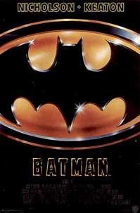 Poster 'Batman' © 1989