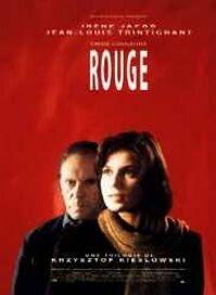 poster 'Trois Couleurs: Rouge' © 1994 Miramax Films