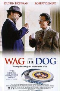 De Niro en Hoffman bedenken een 'oorlog' inclusief een heroïsch strijdlied (gecomponeerd door Willie Nelson) © 1998 PolyGram Filmed Entertainment