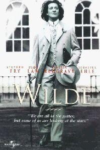 Poster 'Wilde' met Stephen Fry © 1997 RCV Film Distribution
