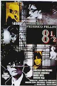 Poster van 'Otto e mezzo' © 2003 Filmmuseum