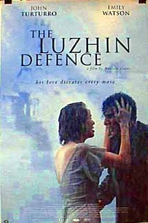 Poster 'The Luzhin Defence' © 2000