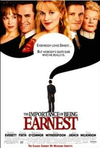 Poster 'The Importance of Being Earnest' (c) 2002