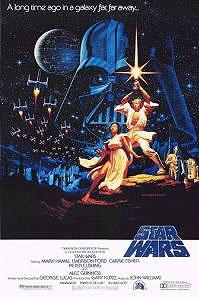 Poster van 'Star Wars' © 1977 Lucasfilm Ltd.