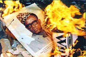 Still uit 'Mobutu, roi du Zaïre' © 1999