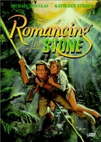 poster van 'Romancing the Stone' (c) 1984