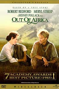 poster van 'Out of Africa' © 1985 Columbia TriStar