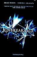 Poster van 'Unbreakable' (c) 2000
