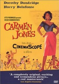 Poster van 'Carmen Jones' (c) 1954