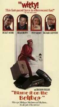Poster van 'Blame it on the Bellboy' (c) 2002 Filmmuseum