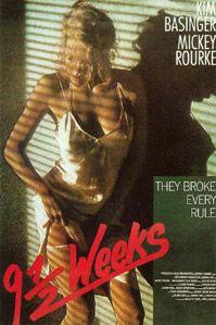 Poster van 'Nine 1/2 Weeks' © 1986 Metro-Goldwyn-Mayer (MGM)