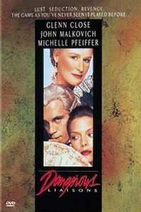 Poster van 'Dangerous Liaisons' © 1988 Warner Bros.