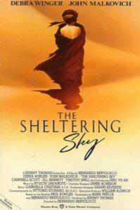 Poster van 'The Sheltering Sky' © 1990
