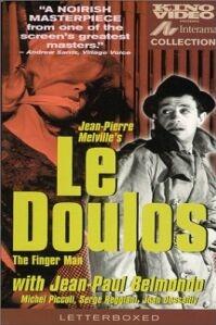 Poster van 'Le Doulos' © 2002 Filmmuseum Distributie