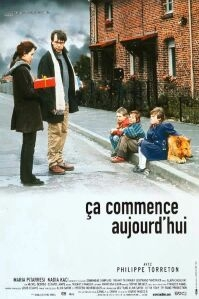 Poster van 'Ça commence aujourd'hui' © 1999 Paradiso